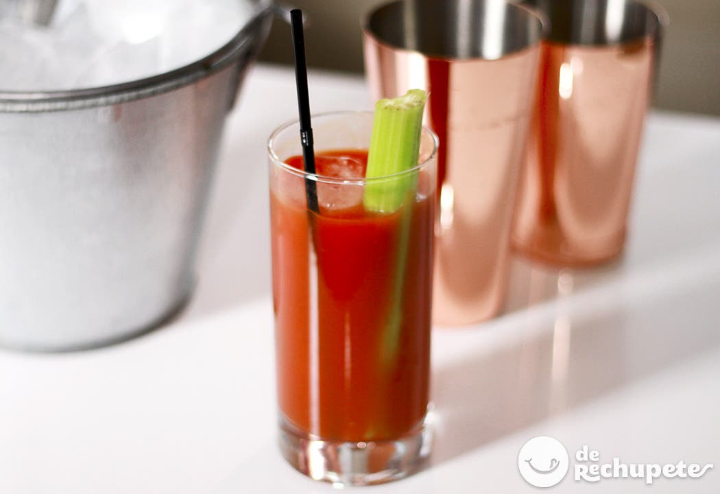 C mo hacer un bloody mary for Coctel bloody mary