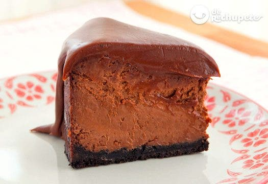 Cheesecake o tarta de queso con chocolate