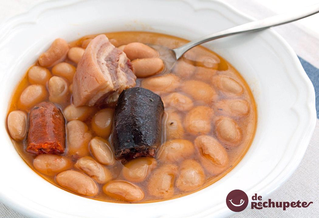 Fabada asturiana en olla express recetas de rechupete for Cocina asturiana