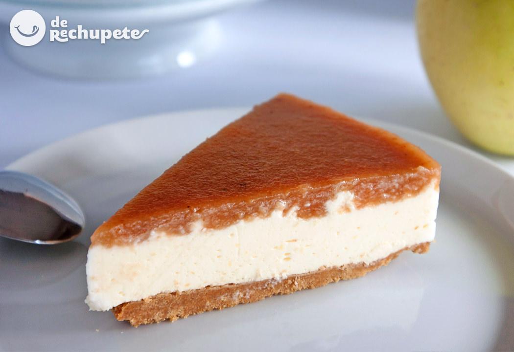 Tarta de queso y membrillo recetas de rechupete - Como preparar membrillo ...
