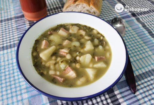 Caldo gallego. Receta tradicional gallega