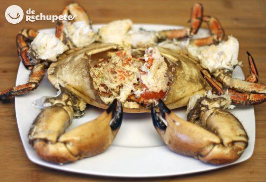 C mo cocer un buey de mar receta de marisco recetas de - Como cocinar un buey de mar ...