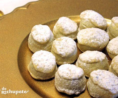 Mantecados blancos. Receta tradicional