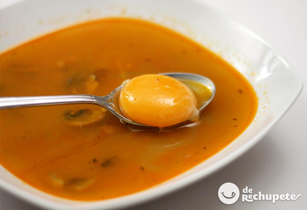 Sopas de ajo marineras recetas de rechupete recetas de - Sopa castellana casera ...