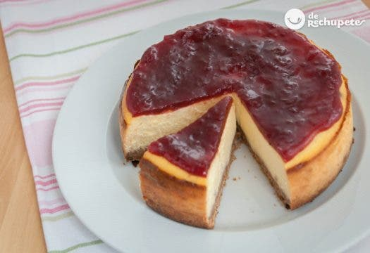 Tarta de queso americana o New York Cheesecake