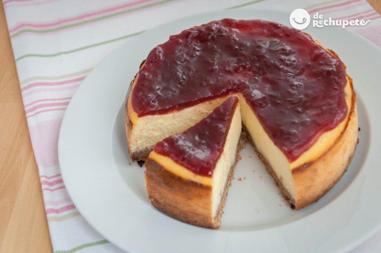 Cómo hacer una tarta de queso americana o New York Cheesecake
