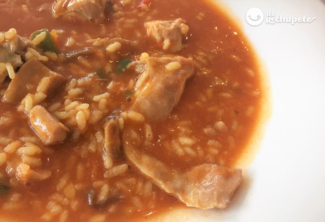 Arroz caldoso con conejo recetas de rechupete recetas for Como hacer criadero de truchas