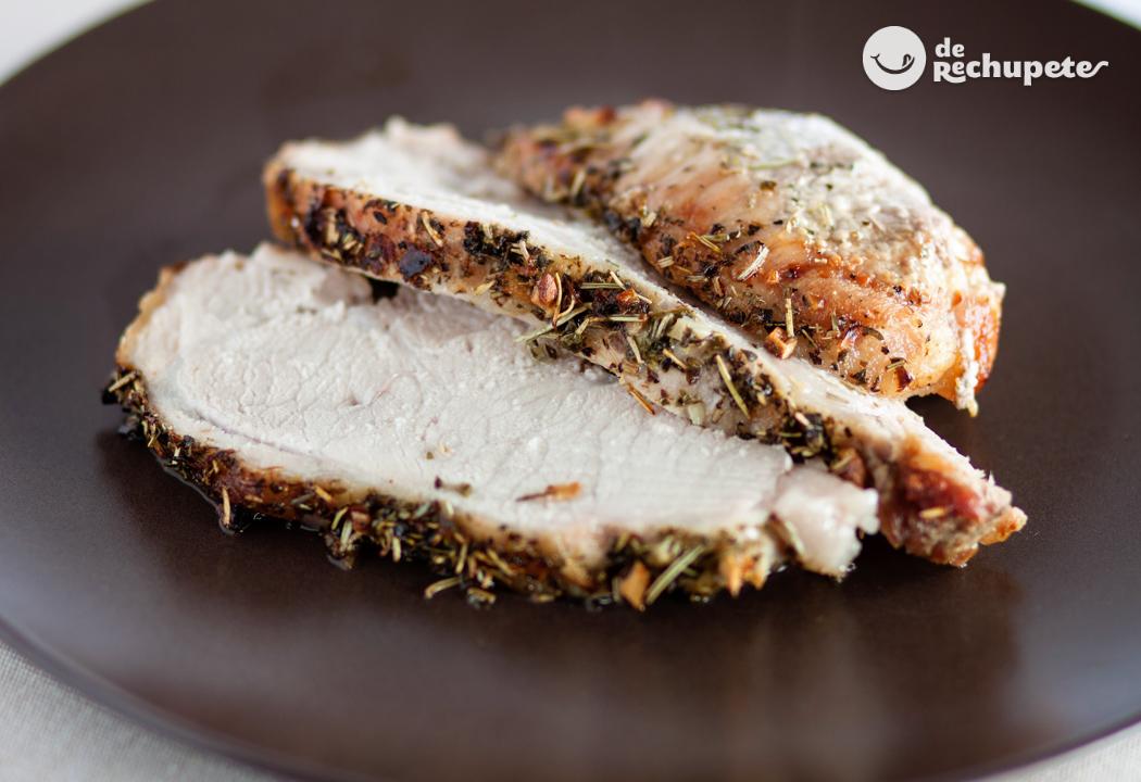 Lomo De Cerdo Al Horno Recetas De Rechupete Recetas De Cocina Caseras Y Fáciles