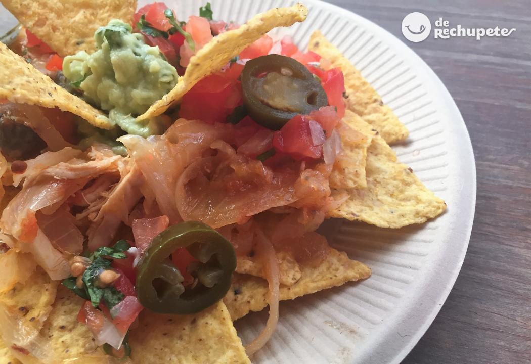Nachos con queso recetas de rechupete recetas de for Comidas caseras faciles