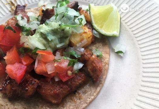 Tacos al pastor mexicanos
