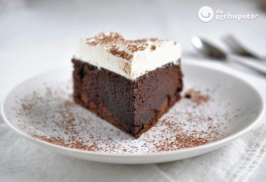 Tarta de chocolate Guinness. Receta San Patricio