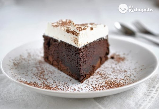 Tarta de chocolate Guinness  Receta San Patricio