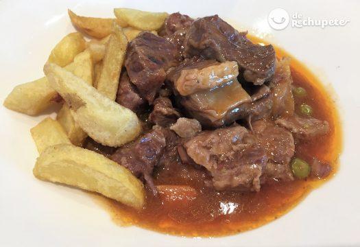 Guiso de carne casero