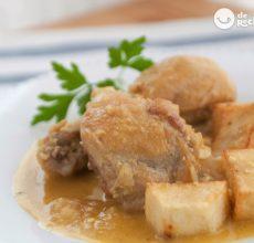 Cómo hacer pollo en pepitoria casero