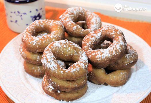 receta facil de rosquillas