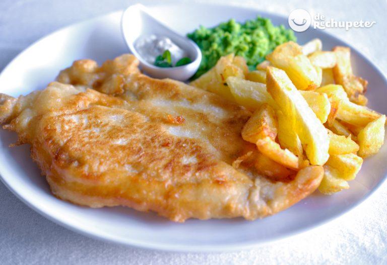 Fish and Chips inglés. Tom Kerridge
