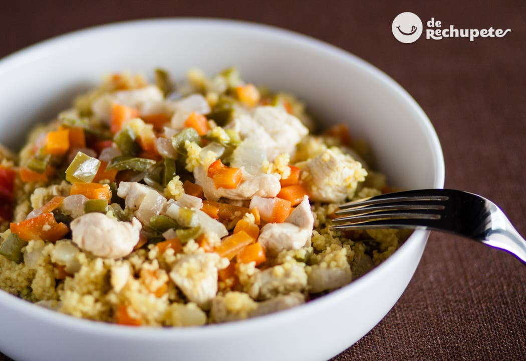 Cusc s con pollo al curry recetas de rechupete recetas for Como cocinar pollo al curry