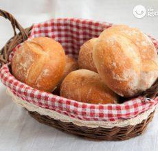 Cómo hacer molletes de pan