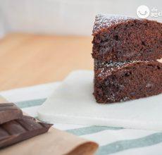 Receta de bizcocho de chocolate irresistible