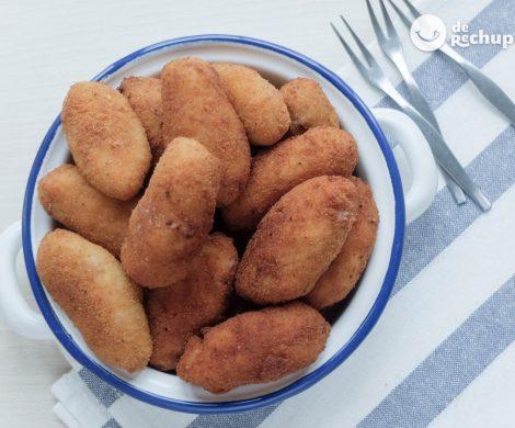 Croquetas de pulpo gallego