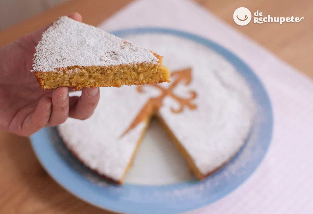 Tarta De Santiago Receta Tradicional Gallega
