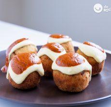 Bombas de patata a la Barceloneta