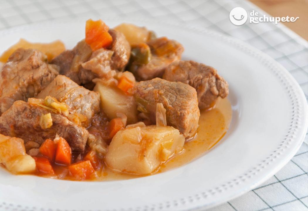 Estofado De Cerdo Recetas De Rechupete Recetas De Cocina Caseras Y Fáciles
