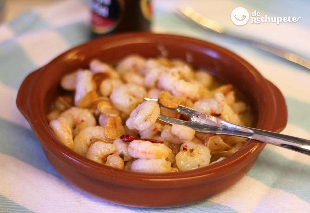 Gambas Al Ajillo Recetas De Rechupete Recetas De Cocina Caseras Y Faciles