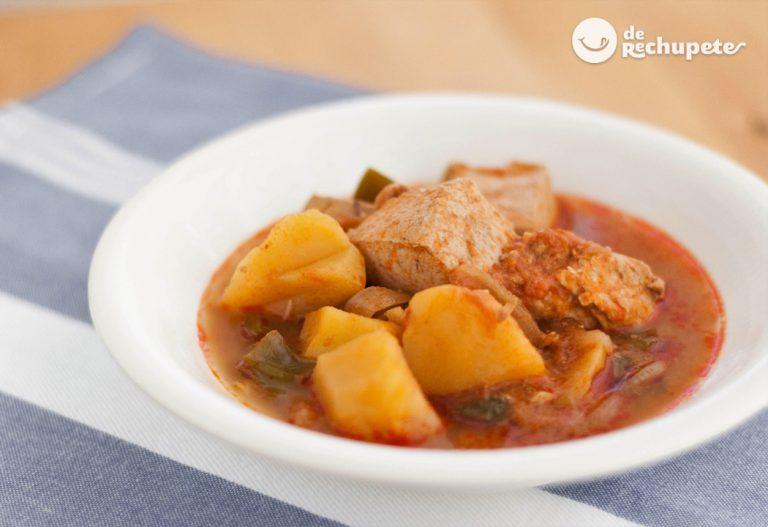 Marmitako de bonito. Receta de un guiso de pescado fácil y a fuego lento