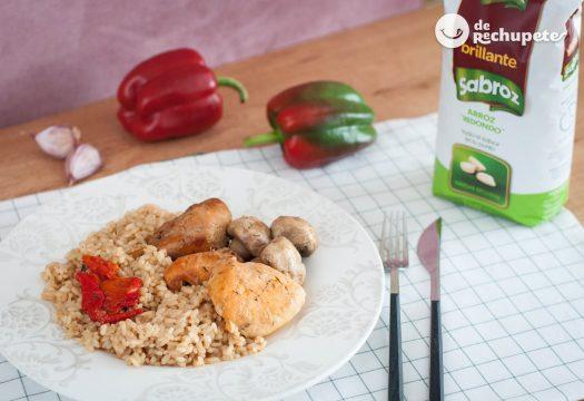 Como hacer arroz hervido con pollo