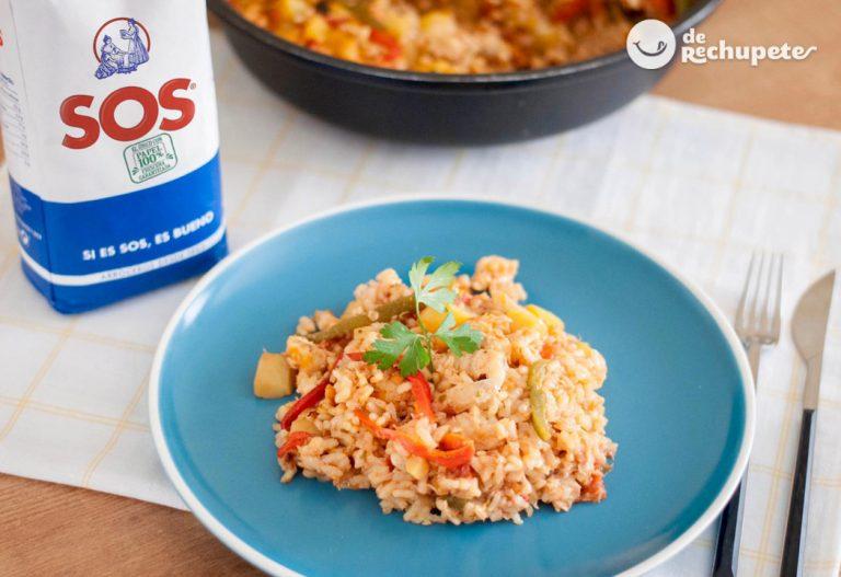 Arroz con bacalao. Receta de arroz para Semana Santa