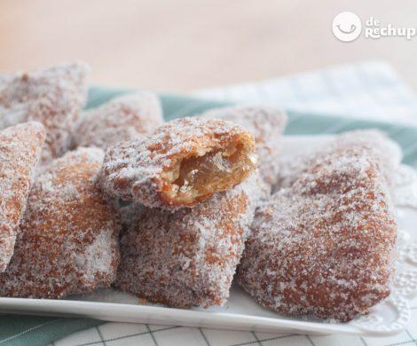 Borrachuelos dulces. Postre tradicional malagueño