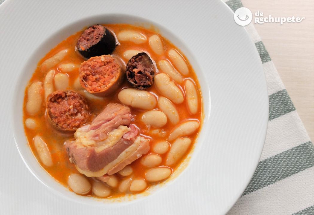 Fabada o fabes asturianas receta tradicional asturiana for Cocina asturiana