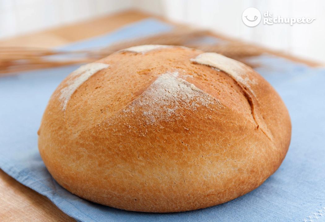 cómo se prepara la masa para hacer pan casero