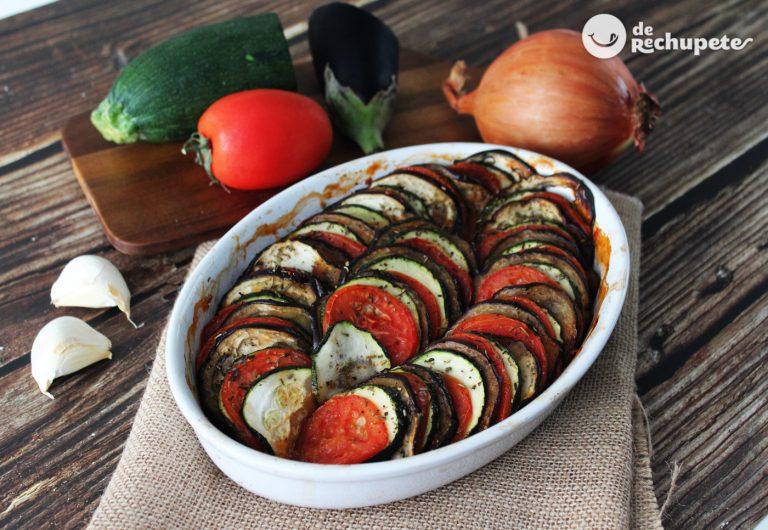 Ratatouille o tian de verduras francés