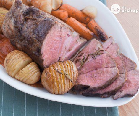 Carne asada al horno