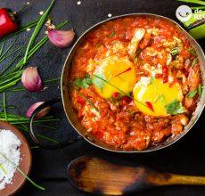 Cómo hacer huevos rancheros. Receta de un desayuno a la mexicana