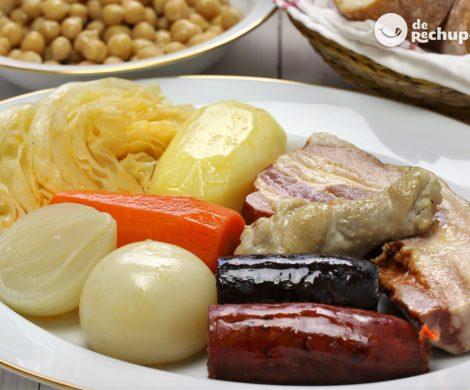 Cómo hacer un cocido madrileño de manera tradicional y fácil