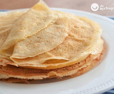 Cómo hacer filloas. Receta tradicional gallega con caldo
