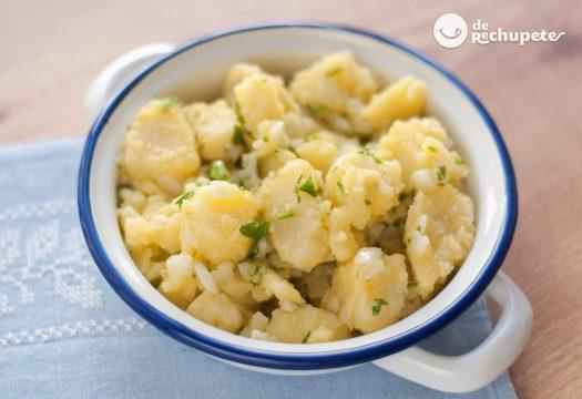 Patatas aliñadas o Papas aliñás