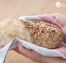 Pan de semillas casero y fácil
