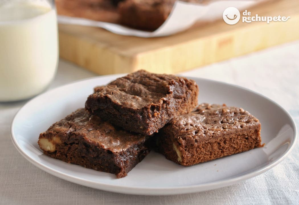 d5a2ec702 Brownie de Nutella - Recetas de rechupete - Recetas de cocina caseras y  fáciles
