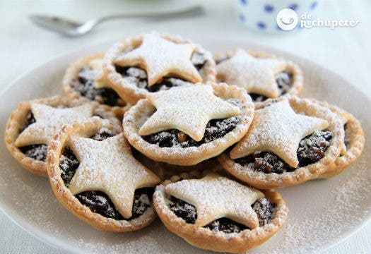 Mince Pies. Pasteles de fruta navideños