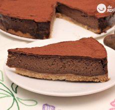 Cómo hacer una tarta de castañas y chocolate. Sabor a otoño