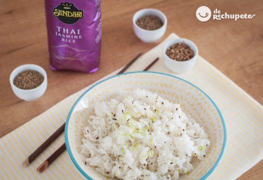 Cómo hacer arroz Thai jazmín y arroz basmati