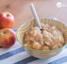 Compota de manzana casera