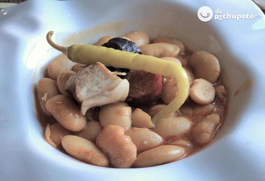 Judiones De La Granja Recetas De Rechupete Recetas De Cocina Caseras Y Fáciles
