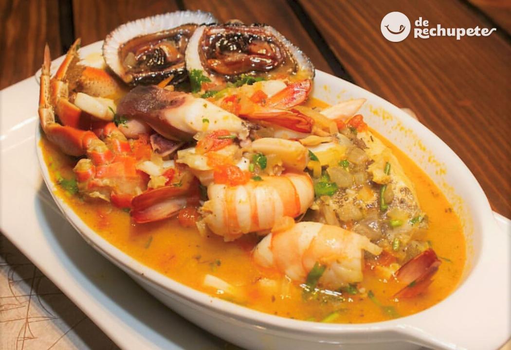 Parihuela Sopa De Pescado Y Marisco Peruana Recetas De Rechupete Recetas De Cocina Caseras Y Fáciles