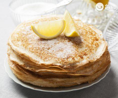 Pancakes o tortitas irlandesas
