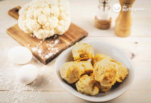 Buñuelos de coliflor